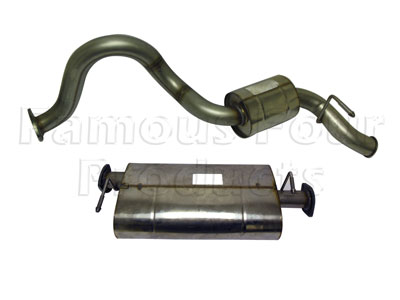 Picture of FF007557 - Stainless Exhaust System