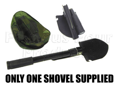 Small Compact Folding Spade - 90/110 and Defender