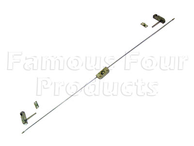 Lock and Link Rod Assy - Top Tailgate