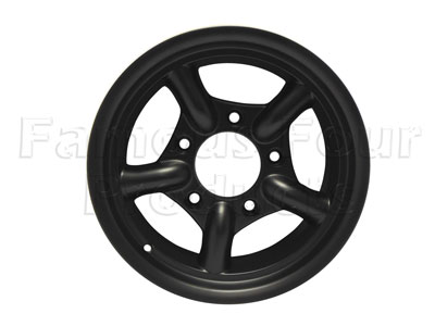 Mach5 Alloy Wheel 8 x 16 - Satin Black