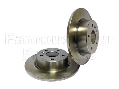 Picture of FF007761 - Rear Brake Discs