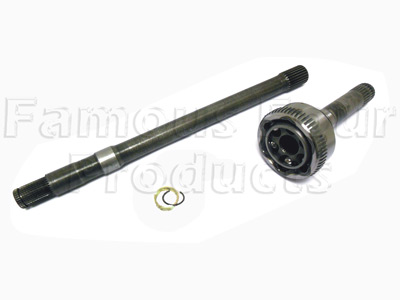 Picture of FF007784 - Half Shaft and CV Joint