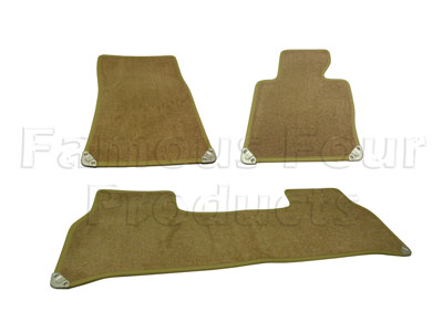 Picture of FF007852 - Set of 4 Footwell Carpet Over-Mats
