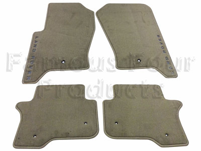 Footwell Carpet Mat Set -  -