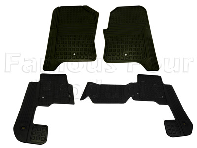 Picture of FF007914 - Rubber Footwell Mat Set