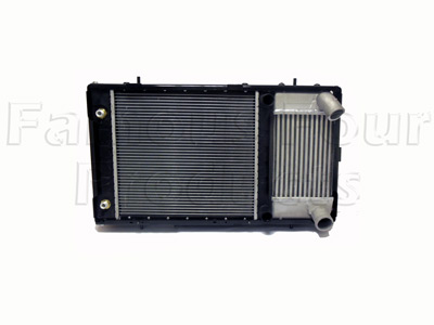 Picture of FF007920 - Radiator with Oil Cooler and  Intercooler Assembly