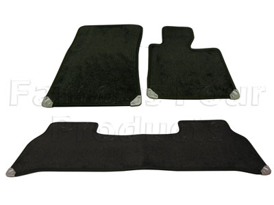 Picture of FF008009 - Set of 4 Footwell Carpet Over-Mats