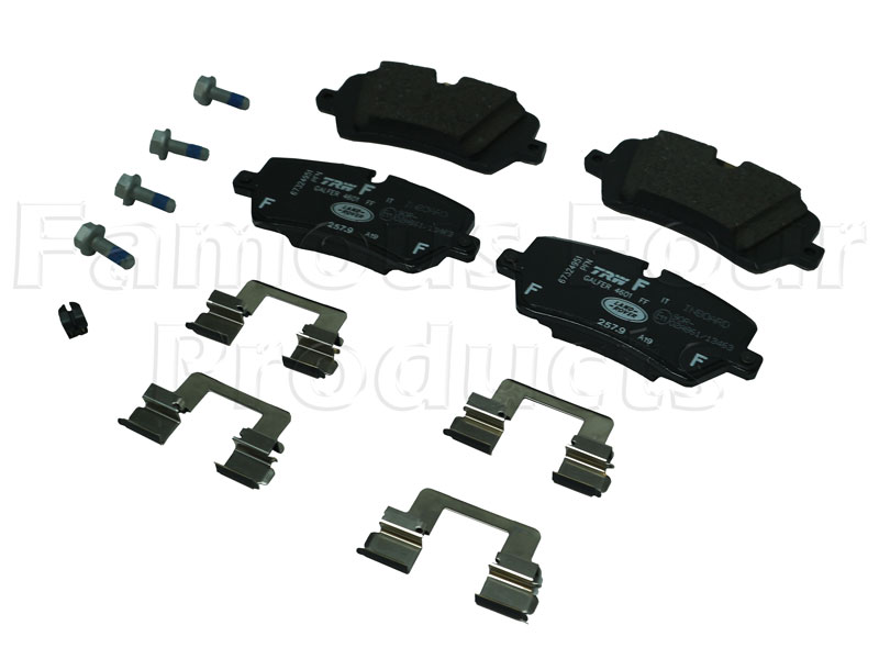 Picture of FF008021 - Brake Pads
