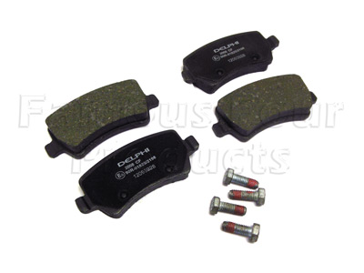 Picture of FF008034 - Brake Pad Axle Set