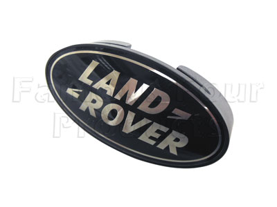 Oval Logo Clip-on Land Rover Grille Badge -  -