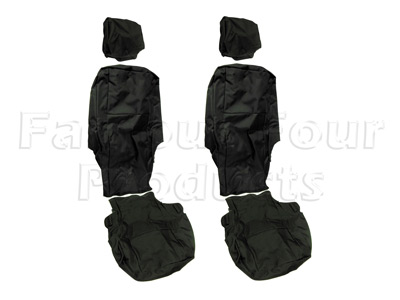 Tailored Waterproof Back Row Seat Covers
