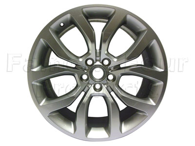 Alloy Wheel 9.5 x 21 Sparkle Silver -  -