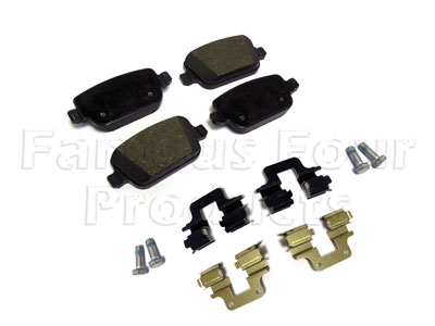 Picture of FF008136 - Brake Pad Axle Set