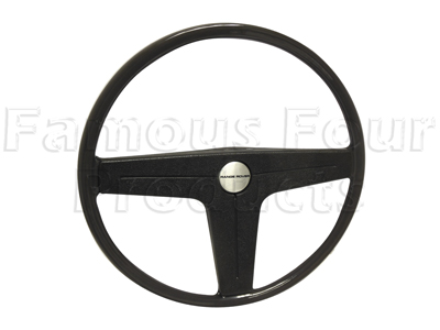 Steering Wheel - 3 Spoke - Grey