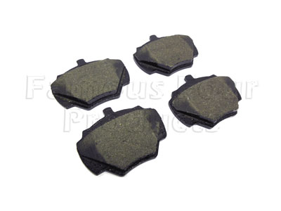 Picture of FF008169 - Rear Brake Pads