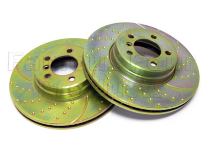 Picture of FF008176 - Front Brake Discs (Vented)