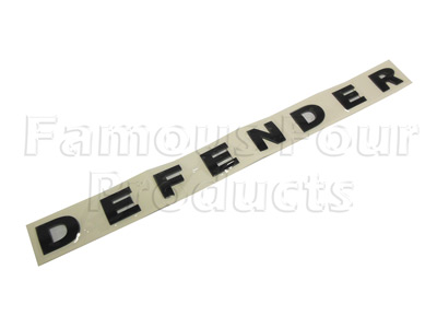 Defender Bonnet Decal Ff008204 For Land Rover 90 110 And
