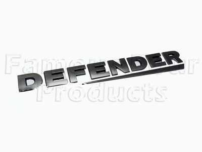 Picture of FF008206 - DEFENDER Rear Panel Decal