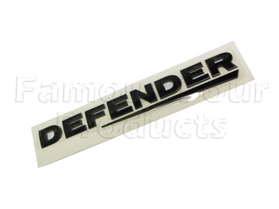 Defender Rear Panel Decal Ff008207 For Land Rover 90 110