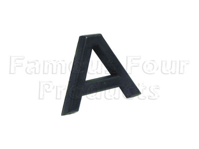 Plastic Lettering - A -