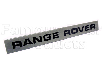 Picture of FF008247 - Scuttle Badge - RANGE ROVER