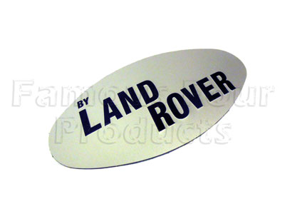 Picture of FF008248 - Tailgate Badge - by LAND ROVER