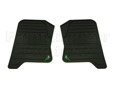 Footwell Rubber Mats - Trim to fit