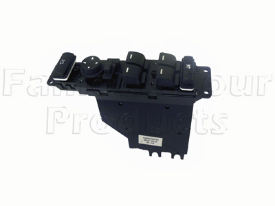 Drivers Door Switch Panel Assembly