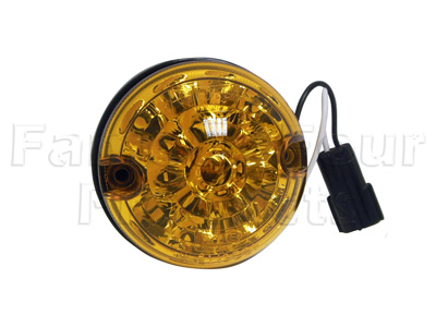 LED Front Indicator Lamp - 3 inch diameter -  -