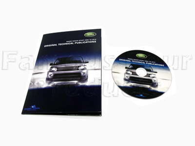 Picture of FF008420 - DVD - Service Manual/Owners Handbooks/Electrical Wiring Diagrams