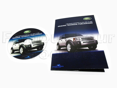 DVD - Service Manual/Owners Handbooks/Electrical Wiring Diagrams
