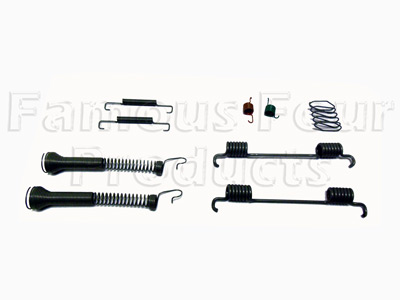 Picture of FF008457 - Fixing Springs for Handbrake Shoes