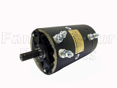 Bow Motor 2 - Replacement Winch Motor 12V - Land Rover and Range Rover