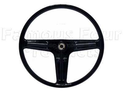 Steering Wheel - 3 Spoke - Black