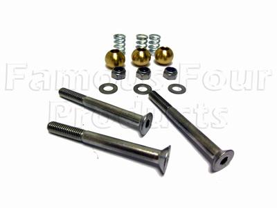 Safari Door Hinge Repair Kit Stainless Steel Ff008682