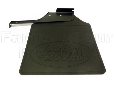 Picture of FF008692 - Mudflap Rubber & Bracket - Rear Right Hand