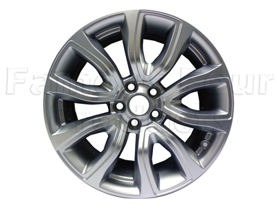 Alloy Wheel - Silver Sparkle