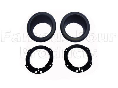 Front Fog Lamp Surrounds -  -