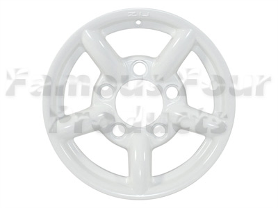 ZU Alloy Wheel 7 x 16  - White