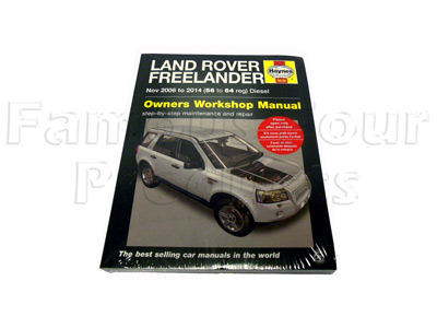 Haynes Workshop-Manual Freelander -  -