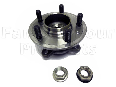Picture of FF009022 - Front Hub with Wheel Bearing