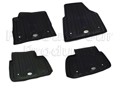 Picture of FF009057 - Rubber Footwell Mat Set