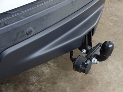 Tow Bar Bracket Kit (electrics not included)