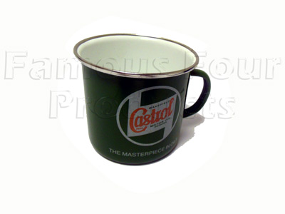 Picture of FF009084 - Mug - Castrol - Enamel