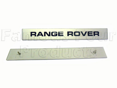 Scuttle Badge - RANGE ROVER