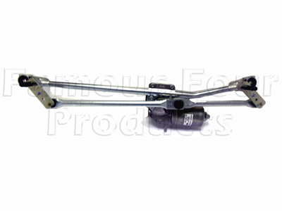 Wiper Motor and Linkage Assembly -  -