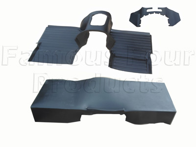 Moulded Matting System - R380 300TDi & TD5 Engined Vehicles -  -