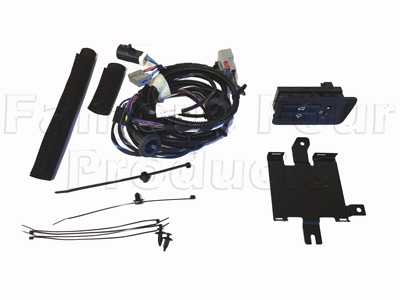 Wiring Harness for Deployable Side Step -  -