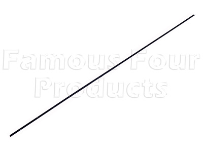 Bottom Seal Metal Retaining Strip - Top Tailgate