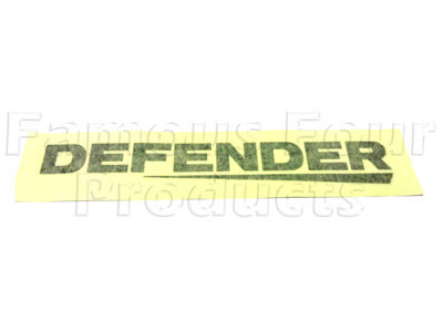 Picture of FF009577 - DEFENDER Rear Panel Decal